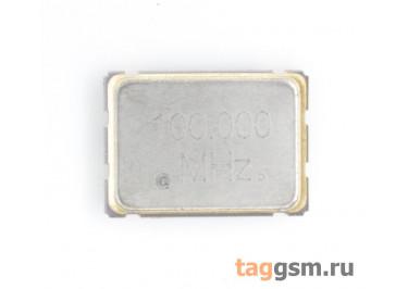 Кварцевый генератор 100 МГц 3,3В (SMD5070)
