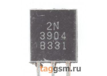 2N3904 (TO-92) Биполярный транзистор NPN 40В 0,2A