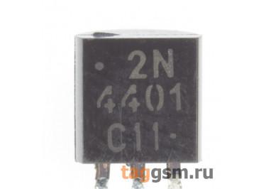 2N4401RLRAG (TO-92) Биполярный транзистор NPN 60В 0,6А