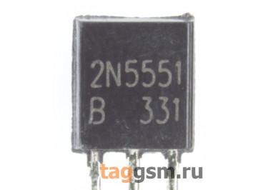 2N5551 (TO-92) Биполярный транзистор NPN 160В 0,6А