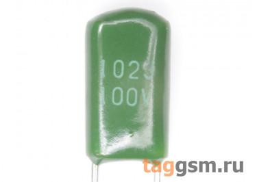 CL11 Конденсатор плёночный 1 нФ 100В