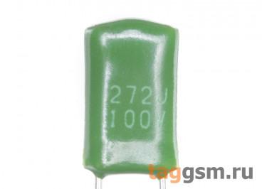 CL11 Конденсатор плёночный 2,7 нФ 100В