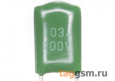 CL11 Конденсатор плёночный 10 нФ 100В