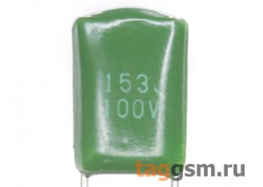 CL11 Конденсатор плёночный 15 нФ 100В