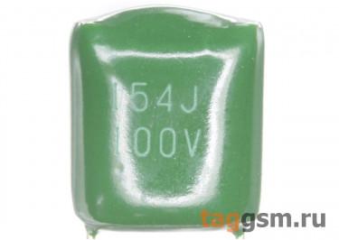 CL11 Конденсатор плёночный 150 нФ 100В
