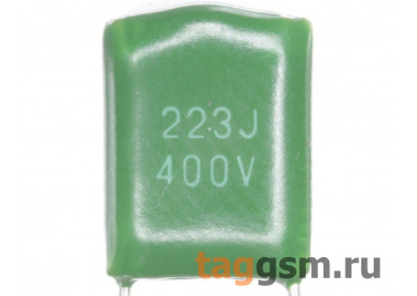 CL11 Конденсатор плёночный 22 нФ 400В