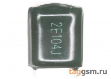 CL11 Конденсатор плёночный 100 нФ 250В