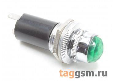 DR016 / G Индикатор на панель зеленый с лампой 6,3В (16мм)