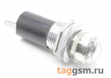 DR016 / W Индикатор на панель белый с лампой 6,3В (16мм)