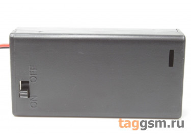 BH5-2003 Батарейный отсек 2xAA с крышкой и выключателем