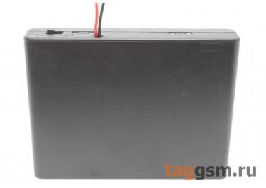 BH5-6003 Батарейный отсек 6xAA с крышкой и выключателем
