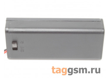 BH7-2003 Батарейный отсек 2xAAA с крышкой и выключателем