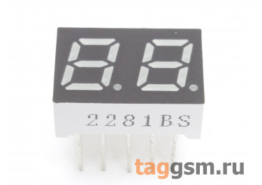 2281BS (Красный) Цифровой индикатор 0,28