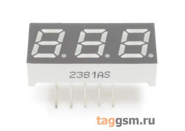 2381AS (Красный) Цифровой индикатор 0,28