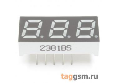 2381BS (Красный) Цифровой индикатор 0,28