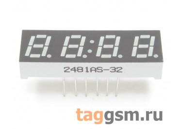 2481AS (Красный) Цифровой индикатор 0,28