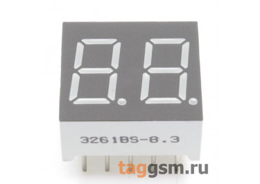 3261BS (Красный) Цифровой индикатор 0,36