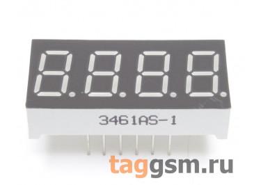 3461AS (Красный) Цифровой индикатор 0,36