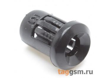 Держатель светодиода 3мм пластик (Чёрный)