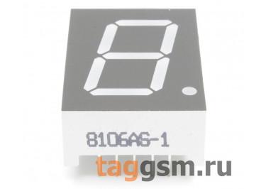 8106AS (Красный) Цифровой индикатор 0,8