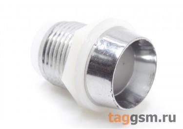 PLH-10 Держатель светодиода 10мм пластик (Серебро)