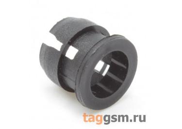 PLH-5K-3 Держатель светодиода 5мм пластик (Чёрный)