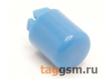 CTS-12S-01O / BL Толкатель синий круглый для тактовой кнопки 12х12 (9Х10мм)