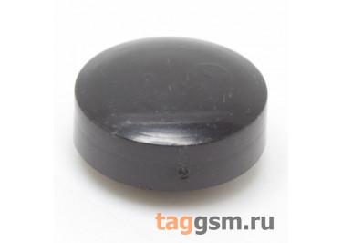 CTS-12S-02O / B Толкатель черный круглый для тактовой кнопки 12х12 (9х4мм)