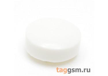 CTS-12S-02O / W Толкатель белый круглый для тактовой кнопки 12х12 (9х4мм)