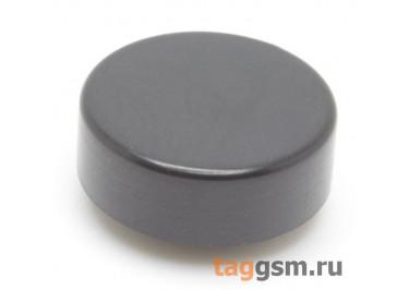 CTS-12S-03O / B Толкатель черный круглый для тактовой кнопки 12х12 (12х4мм)