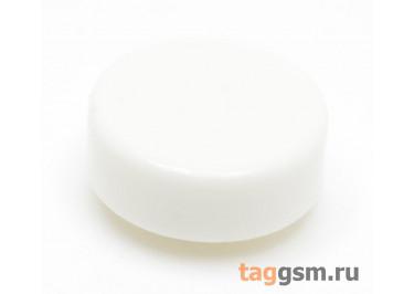 CTS-12S-03O / W Толкатель белый круглый для тактовой кнопки 12х12 (12х4мм)