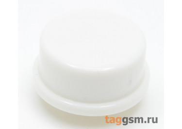 CTS-12S-04O / W Толкатель белый круглый для тактовой кнопки 12х12 (11,5х6мм)