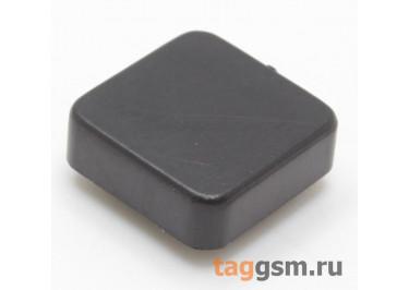 CTS-12S-05S / B Толкатель черный квадратный для тактовой кнопки 12х12 (10Х10Х3мм)