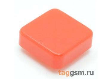 CTS-12S-05S / R Толкатель красный квадратный для тактовой кнопки 12х12 (10Х10Х3мм)