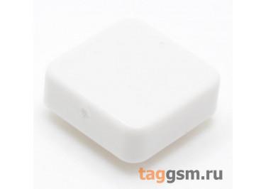 CTS-12S-05S / W Толкатель белый квадратный для тактовой кнопки 12х12 (10Х10Х3мм)