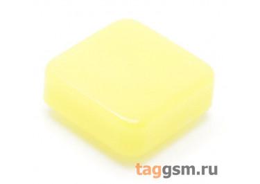 CTS-12S-05S / Y Толкатель желтый квадратный для тактовой кнопки 12х12 (10Х10Х3мм)