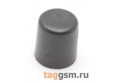CTS-6O-01O / B Толкатель черный круглый для тактовой кнопки 6х6 (5,5х6,5мм)