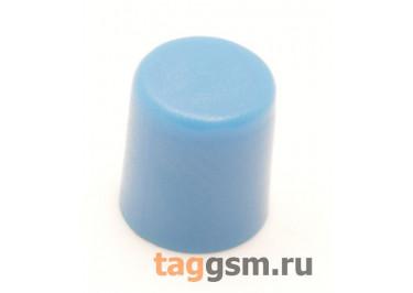 CTS-6O-01O / BL Толкатель синий круглый для тактовой кнопки 6х6 (5,5х6,5мм)
