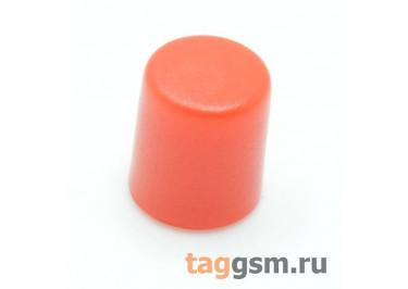 CTS-6O-01O / R Толкатель красный круглый для тактовой кнопки 6х6 (5,5х6,5мм)