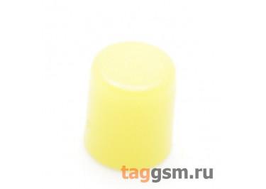CTS-6O-01O / Y Толкатель желтый круглый для тактовой кнопки 6х6 (5,5х6,5мм)