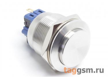 GQ-25H-11L / S Антивандальная кнопка на панель с фиксацией ON / OFF-OFF / ON DPST 250В 5А (25мм)