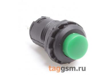 DS-227 / G Кнопка на панель зеленая без фиксации OFF-(ON) SPST 250В 1,5А (12,4мм)