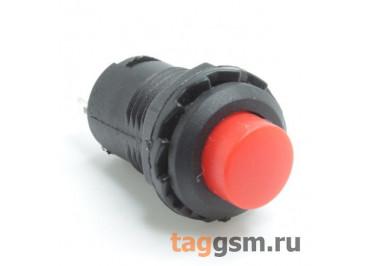 DS-228 / R Кнопка на панель красная с фиксацией ON-OFF SPST 250В 1,5А (12,4мм)