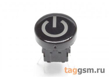 TSL-A061-7L1 / R Кнопка тактовая черная с подсветкой 2-3В красная 6х6мм h=9мм 6 конт. SPST-NO (10мм)