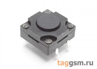 WS-012-6.0 Кнопка тактовая влагозащищенная 12х12мм h=6мм 4 конт. SPST-NO