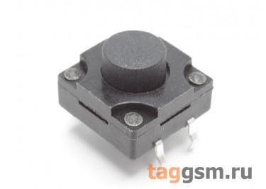 WS-012-8.0 Кнопка тактовая влагозащищенная 12х12мм h=8мм 4 конт. SPST-NO