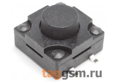 WS-012A-8.0 Кнопка тактовая влагозащищенная SMD 12х12мм h=8мм 4 конт. SPST-NO