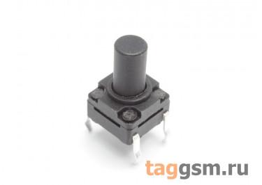 WS-A06-10 Кнопка тактовая влагозащищенная 6х6мм h=10мм 4 конт. SPST-NO