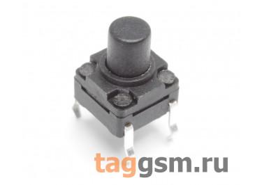 WS-A06-8.0 Кнопка тактовая влагозащищенная 6х6мм h=8мм 4 конт. SPST-NO