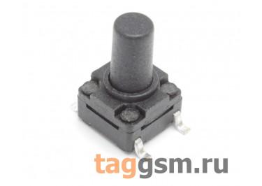 WS-A06A-10 Кнопка тактовая влагозащищенная SMD 6х6мм h=10мм 4 конт. SPST-NO